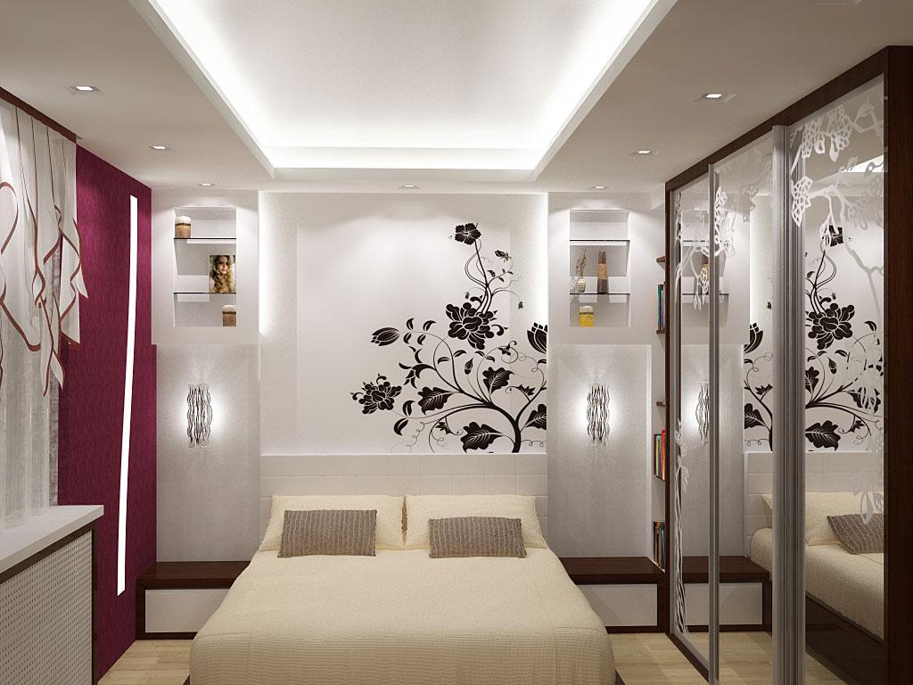 Дизайн спальни 3 на 3 5